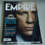 Empire Magazine April 2015  spectre 007 edition